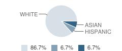 Academic Achievement Center School Student Race Distribution