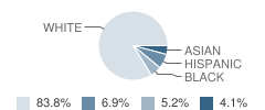 Columbia Grammar-Preparatory School Student Race Distribution