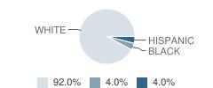 Latrobe Partial (Adelphoi) School Student Race Distribution