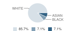 The Academy for Early Learning Student Race Distribution
