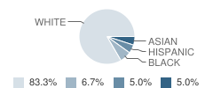 French-American School of Rhode Island Student Race Distribution