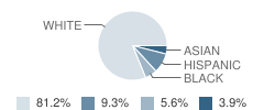 Collegedale Academy Student Race Distribution