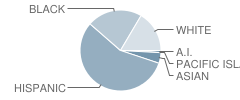 Seneca Elementary School Student Race Distribution