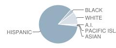Highgrove Elementary School Student Race Distribution
