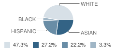 Circle of Independent Learning School Student Race Distribution