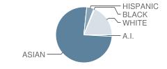Kaumualii Elementary School Student Race Distribution