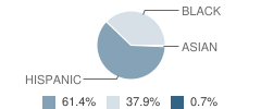 Emolior Academy Student Race Distribution