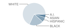 Letort Elementary School Student Race Distribution